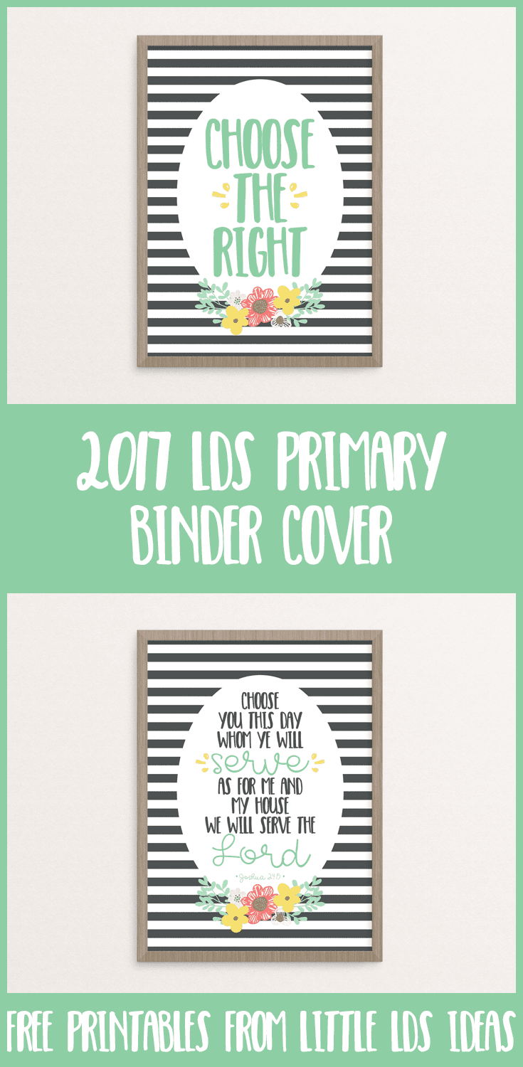 207 LDS Primary Binder Covers from Little LDS Ideas ...