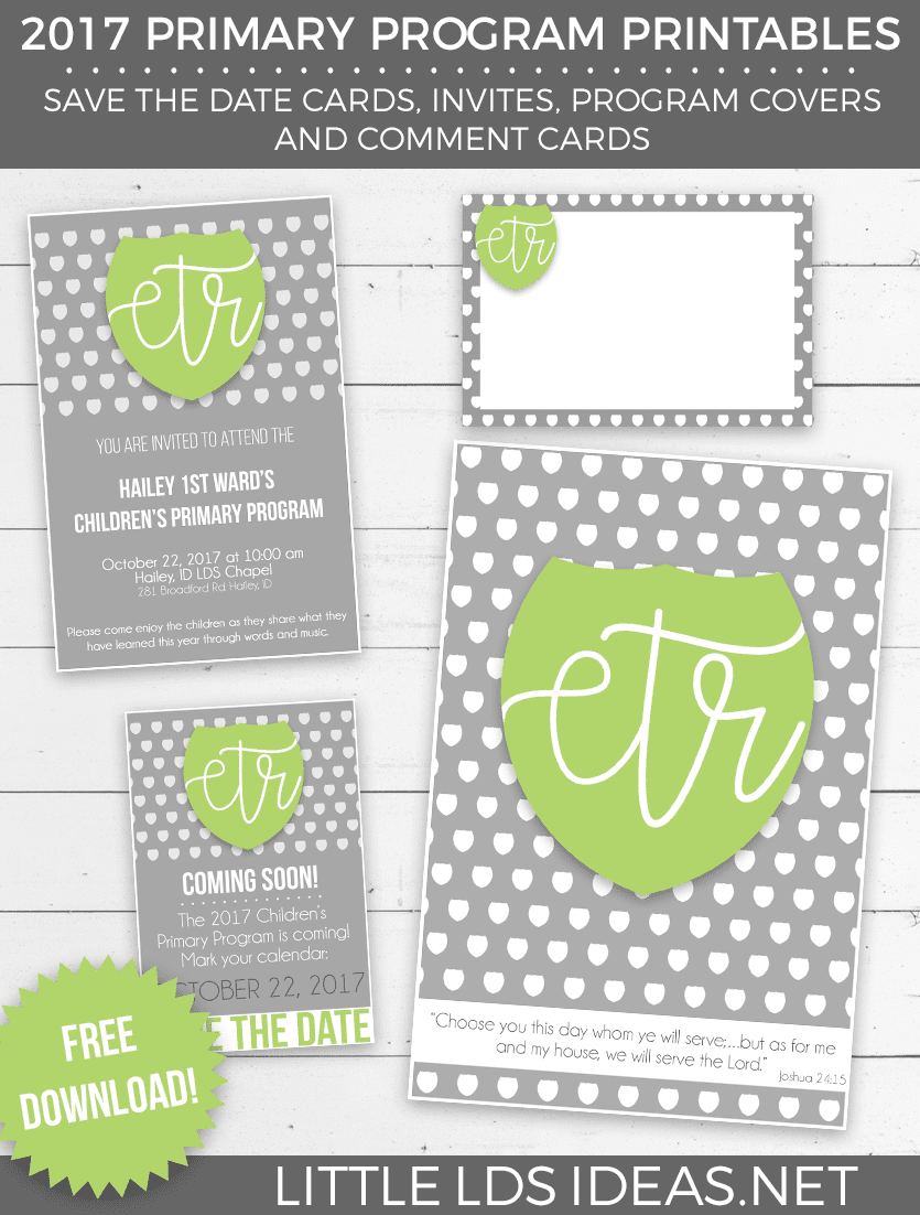 Primary 2017 lds primary program printables little lds for Idea door primary printables