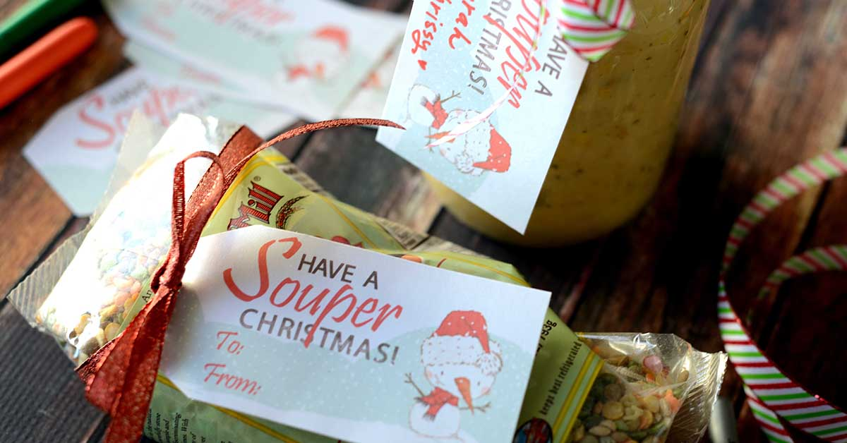 Free Quot Souper Quot Christmas Gift Tags Perfect Tag For