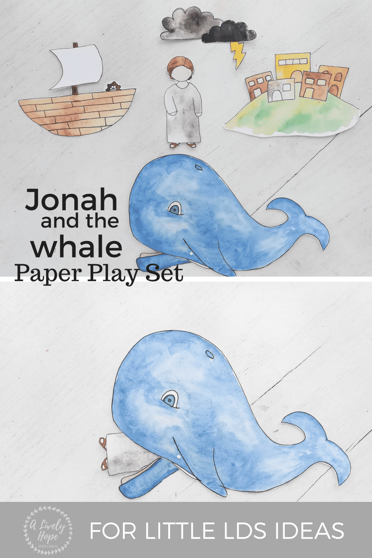 Jonah and the Whale Printables from A Lively Hope & Little ...